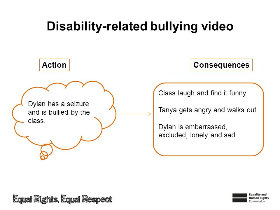 Disability-related bullying video