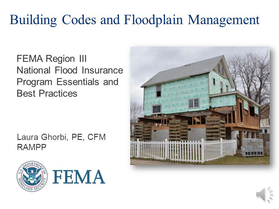 Building Codes And Floodplain Management