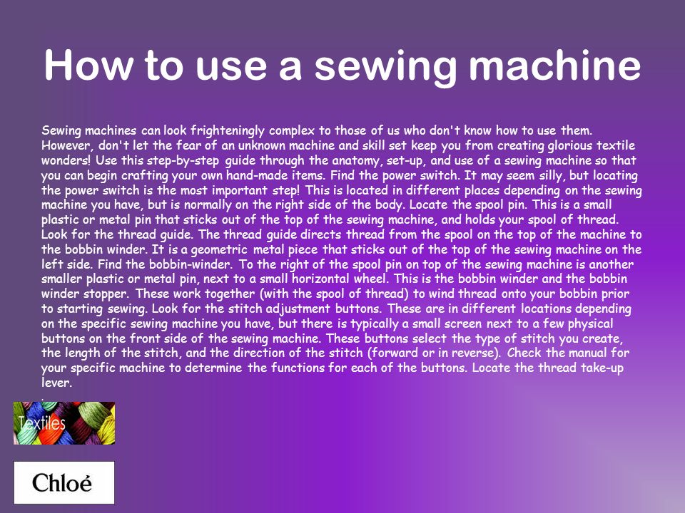Textiles GCSE textiles Sewing techniques Different materials - ppt ...