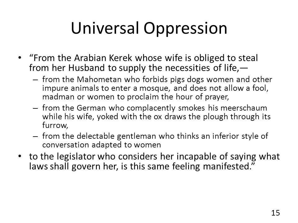 Universal Oppression From the Arabian Kerek whose wife is obliged to steal from her Husband to supply the necessities of life,—