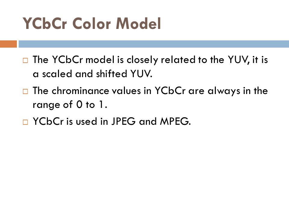 Yuv Color Range