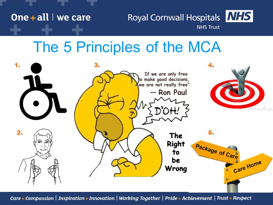 The 5 Principles of the MCA
