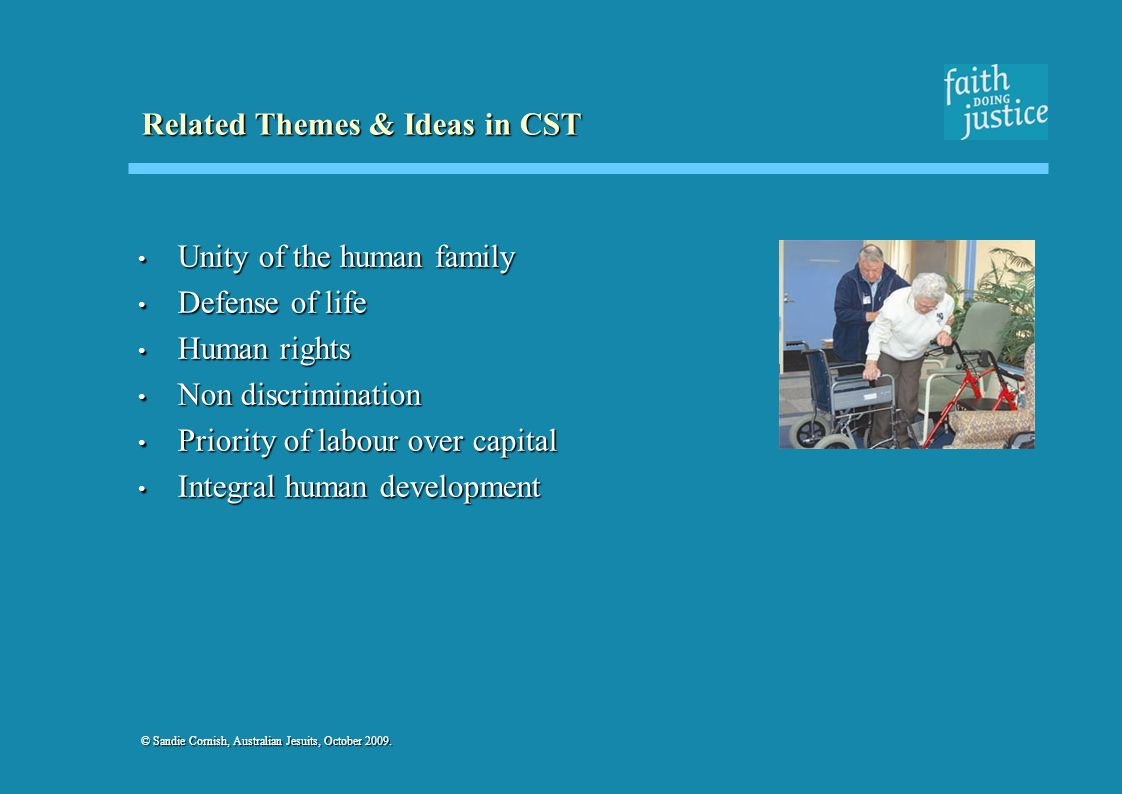 Related Themes & Ideas in CST