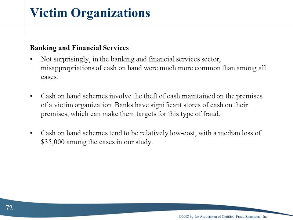 Victim Organizations Banking and Financial Services