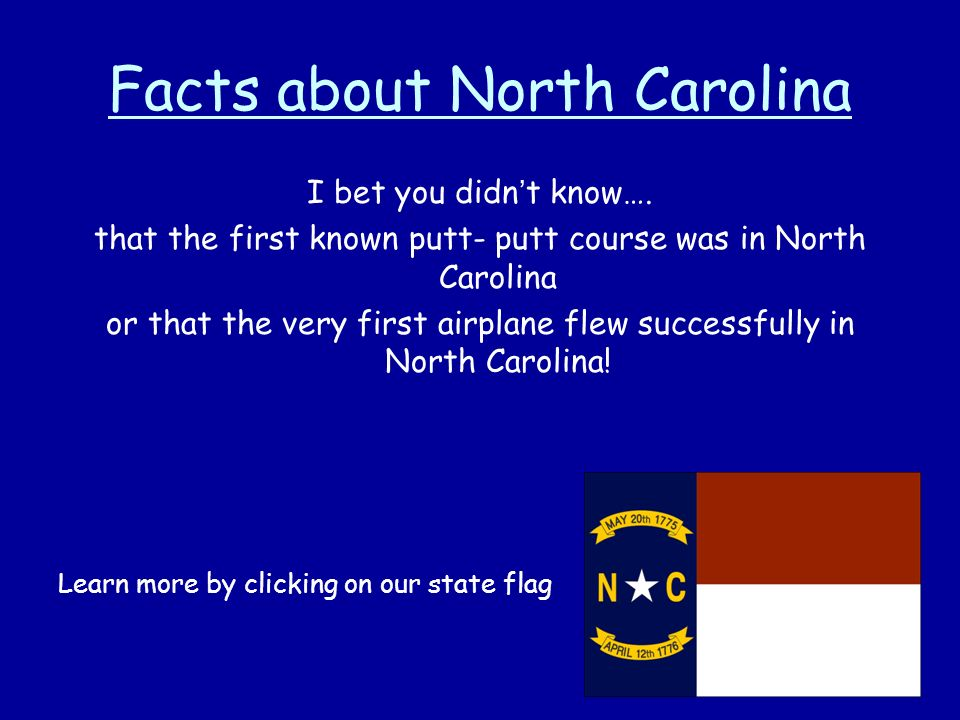 Exploring North Carolina Ppt Video Online Download