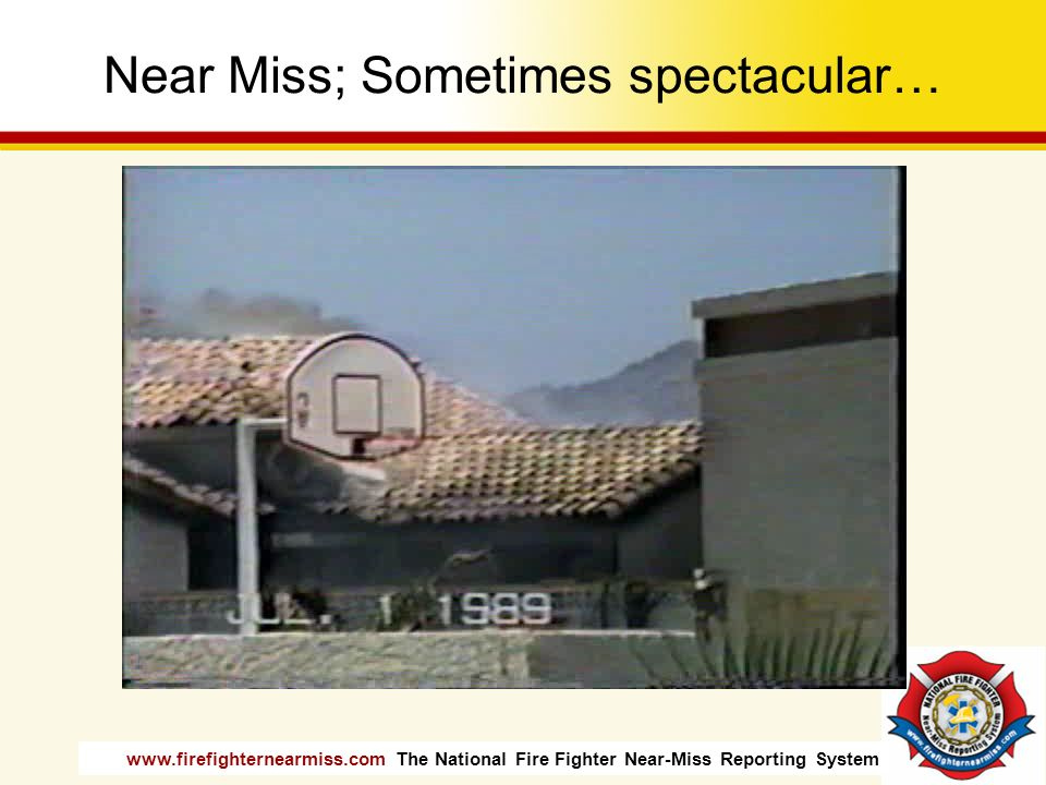 Near Miss; Sometimes spectacular…