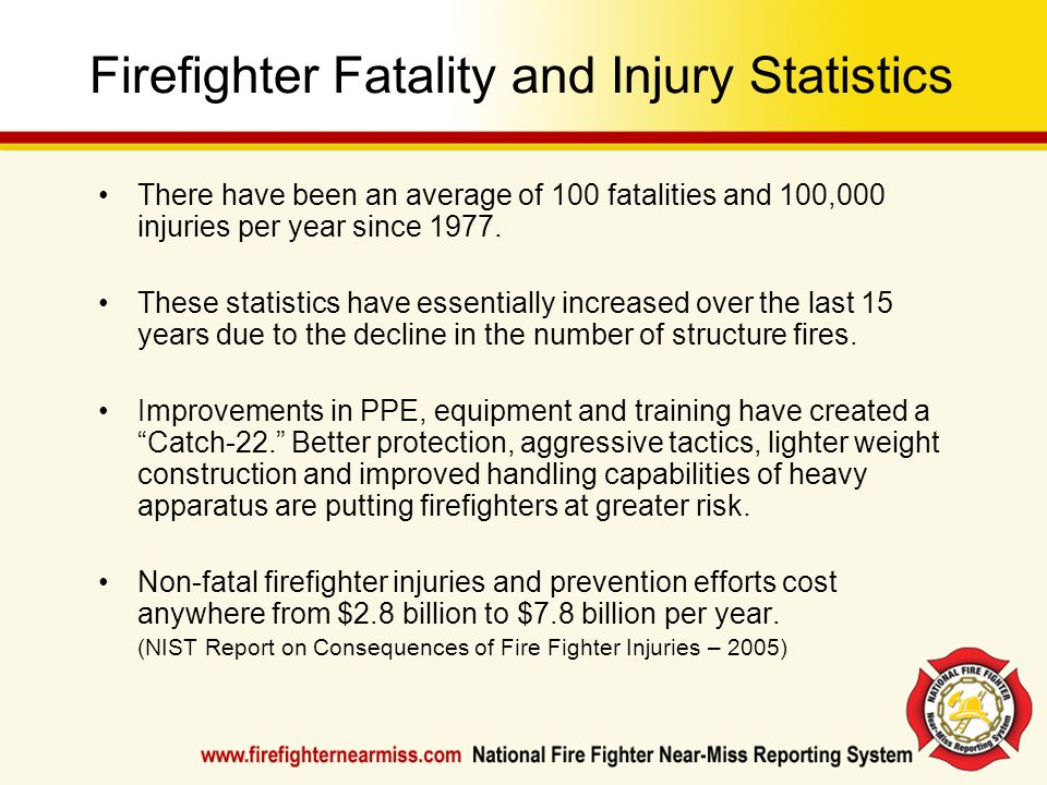 Firefighter Fatality and Injury Statistics