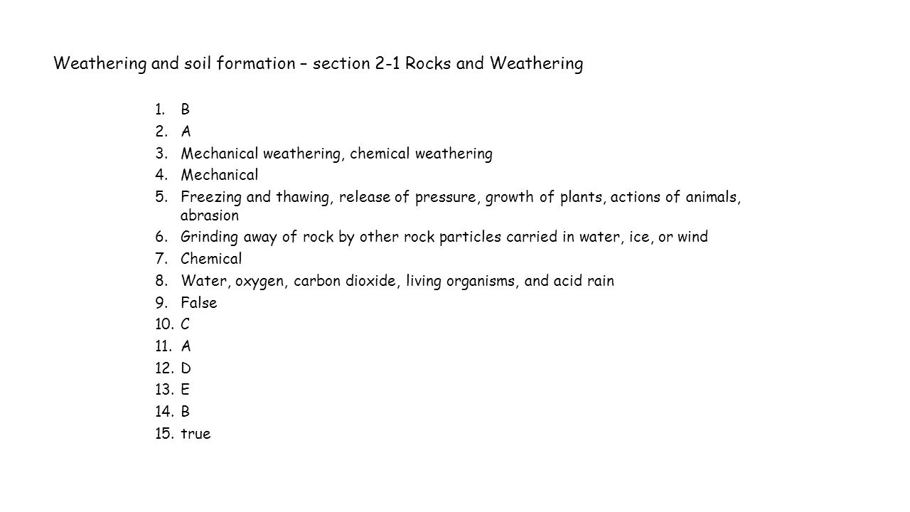 Workbooks the rock cycle worksheets : Rocks And Weathering Worksheet - Checks Worksheet