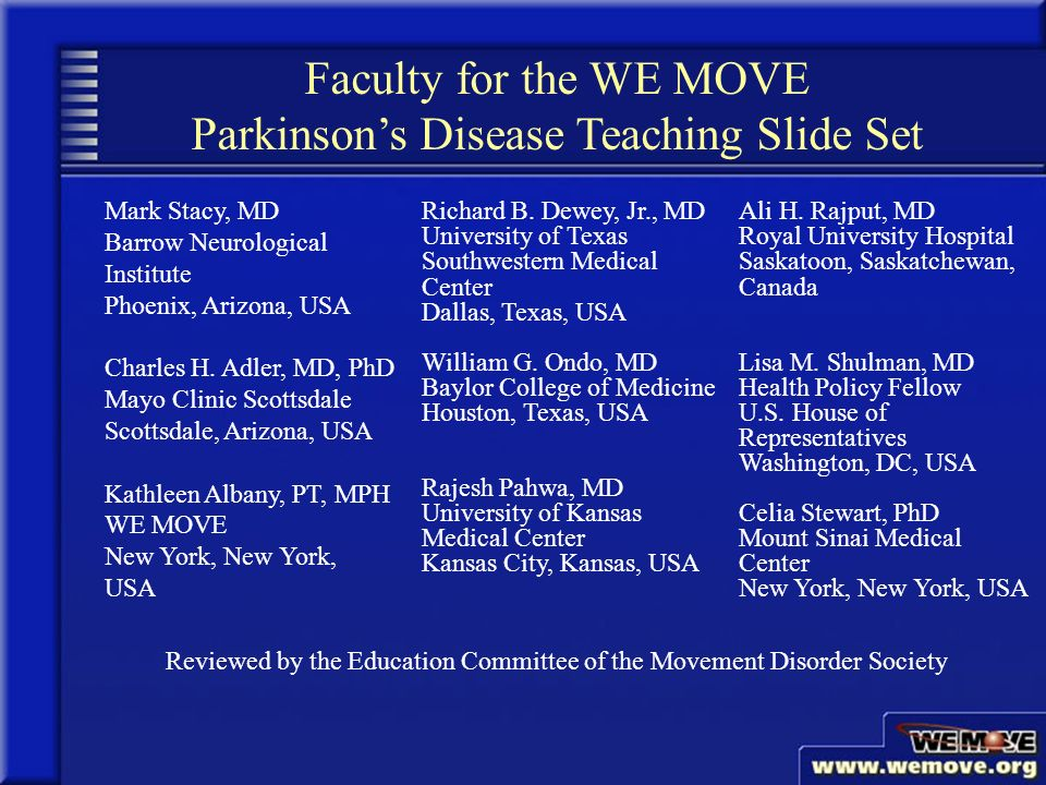 The Surgical Treatment of Parkinson's Disease - ppt video