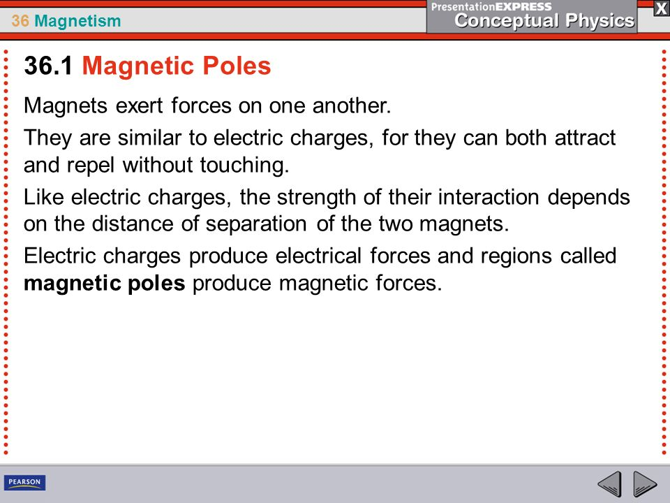 A moving electric charge is surrounded by a magnetic field  - ppt