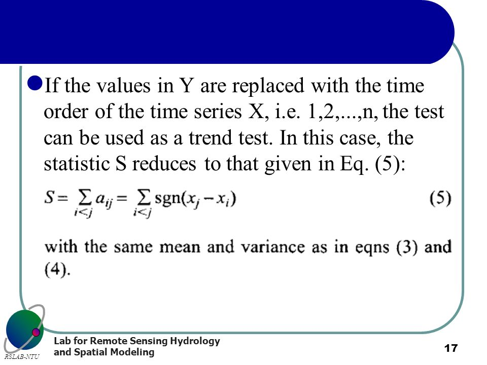 If the values in Y are replaced with the time order of the time series X, i.e.