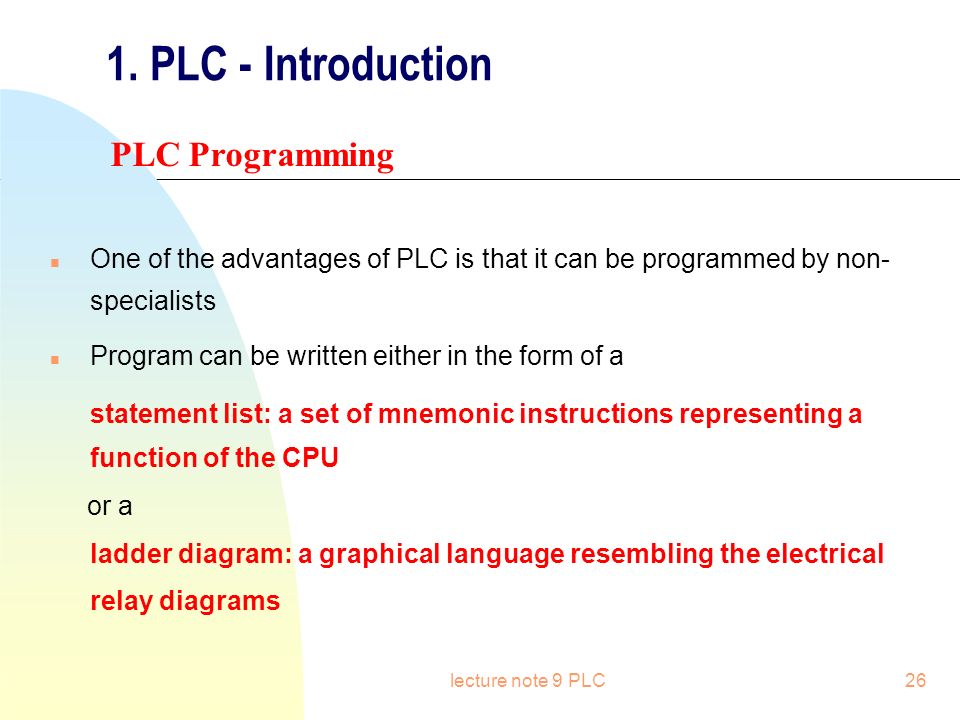 Plc programmable logical controller ppt video online download plc introduction plc programming ccuart Image collections