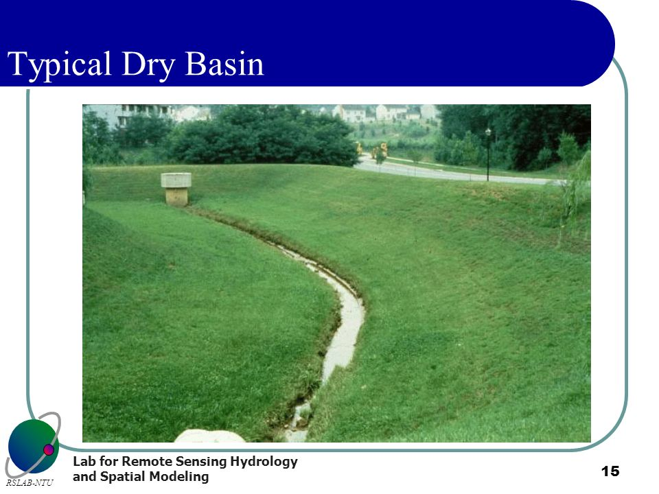 Typical Dry Basin