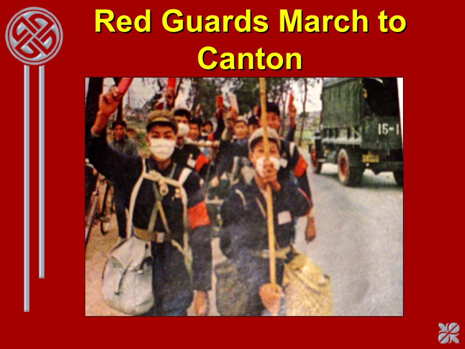 Red Guards March to Canton