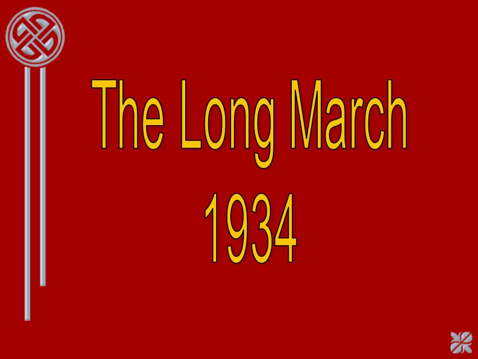 The Long March 1934
