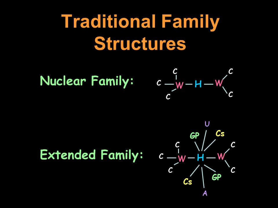Traditional Family Structures