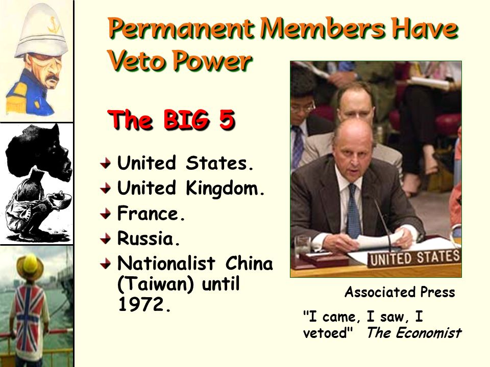 Permanent Members Have Veto Power