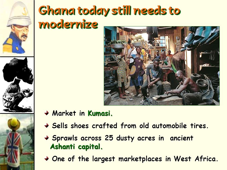 Ghana today still needs to modernize