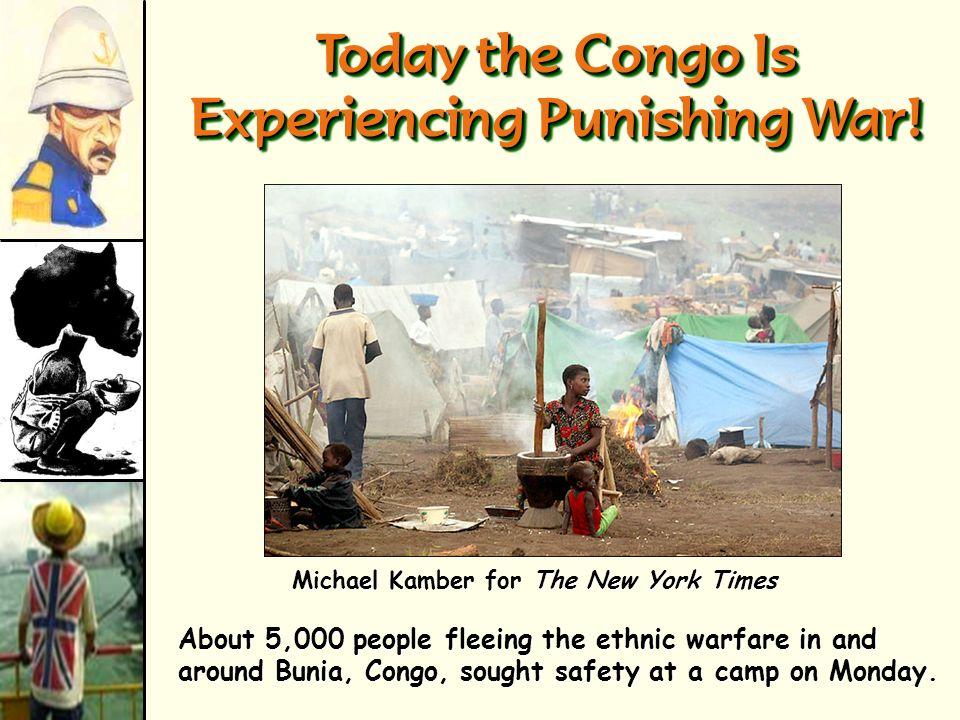 Today the Congo Is Experiencing Punishing War!