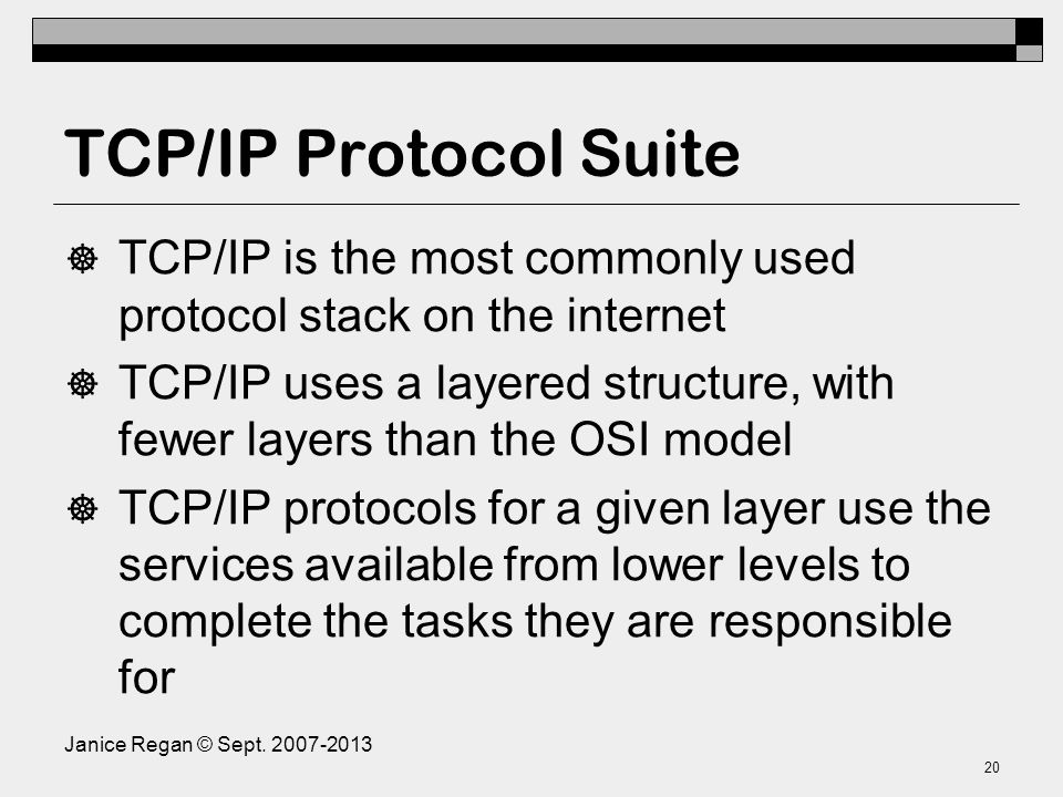 Some Application layer Protocols