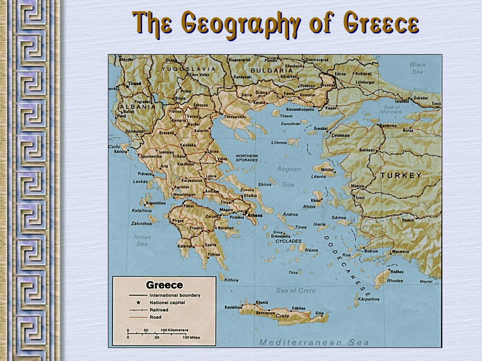 The Geography of Greece