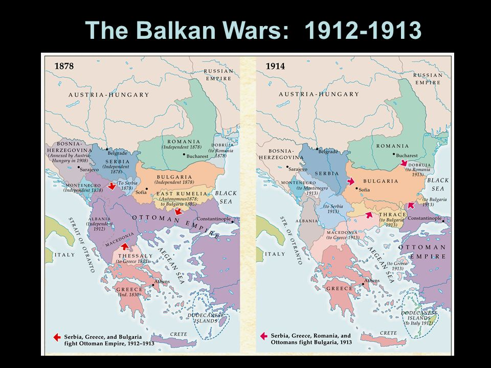The Balkan Wars: 1912-1913
