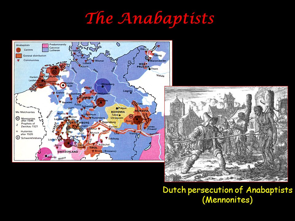 Dutch persecution of Anabaptists (Mennonites)
