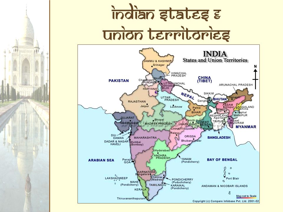 Indian States & Union Territories