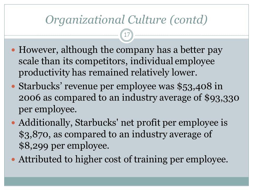 starbucks organizational culture case study