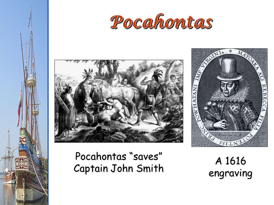 Pocahontas saves Captain John Smith