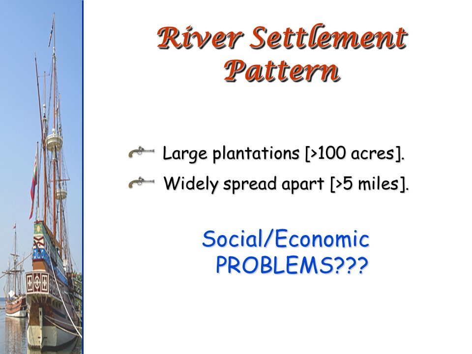River Settlement Pattern