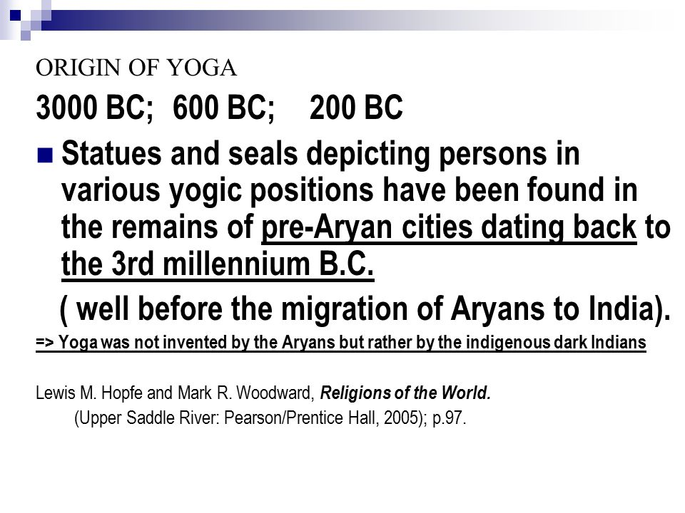 WORLD RELIGIONS Welcome To The Complex World Of Yoga