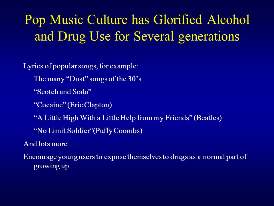 Lyric lyrics to cocaine : Objectives Participants will: - ppt download