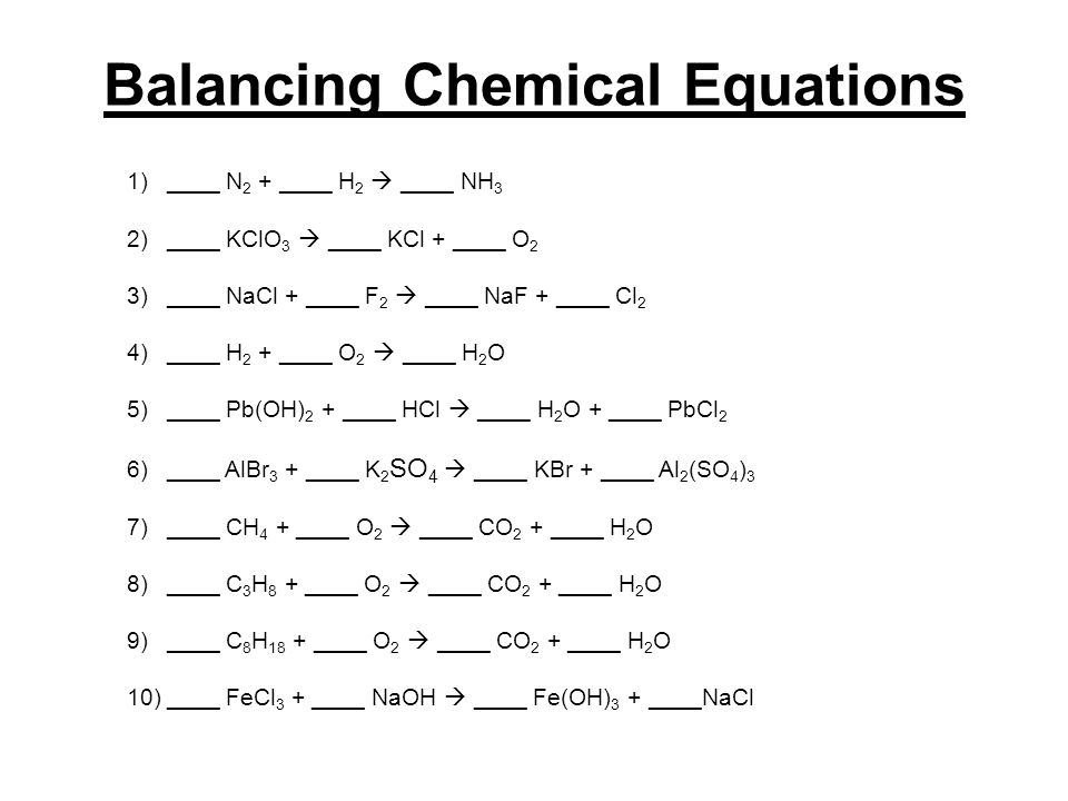 Molar Relationships In Chemical Reactions Ppt Video Online Download. Balancing Chemical Equations. Worksheet. Balancing Chemical Equations Worksheet Prentice Hall At Clickcart.co