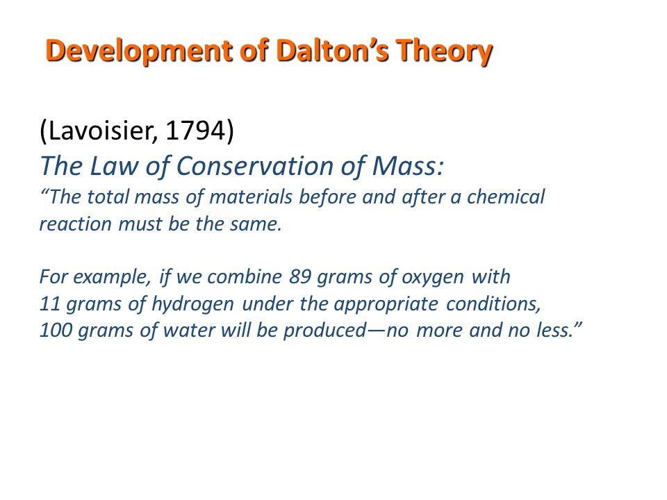 Chemistry Timeline 1 1800s Joseph Proust The Law Of Definite