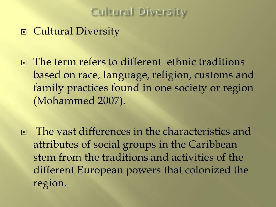 cultural renewal in the caribbean