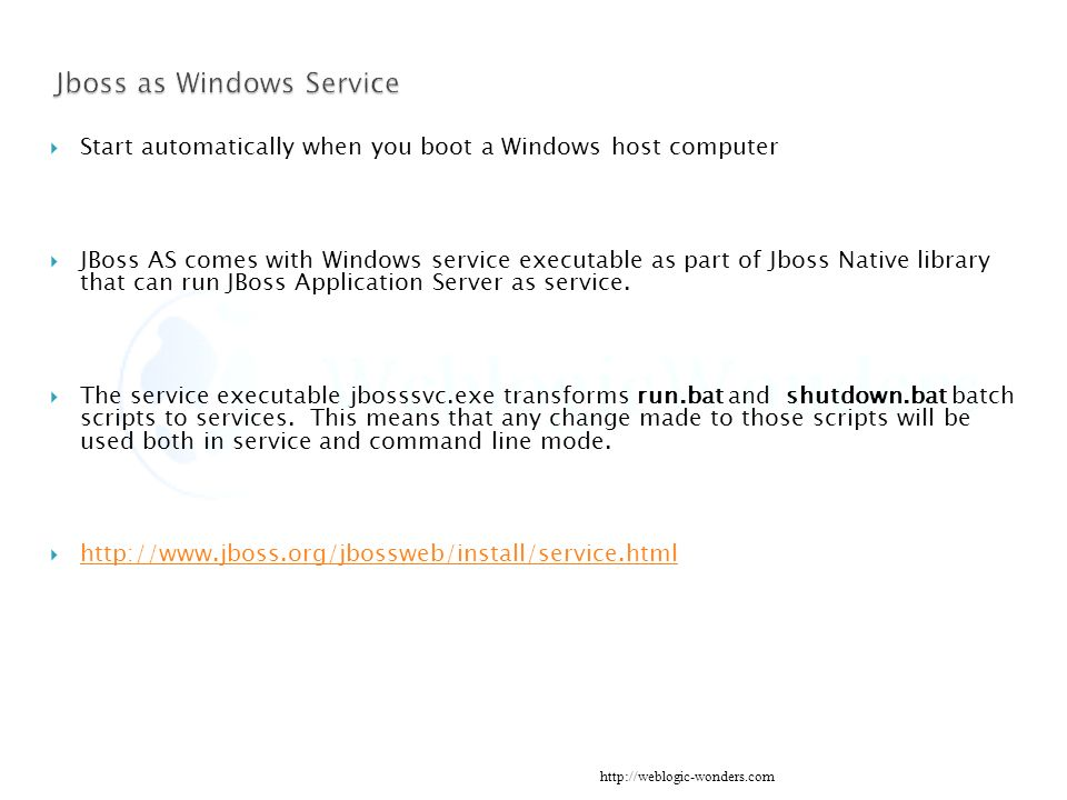 JBoss Administration Server Introduction - ppt download