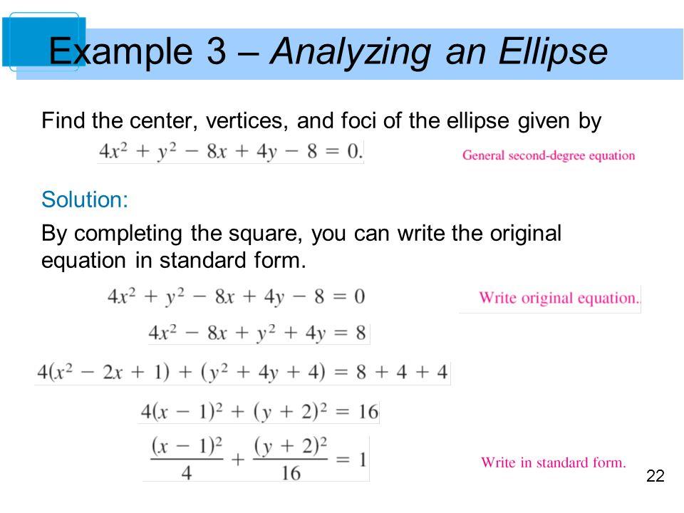 Conics Parametric Equations And Polar Coordinates Ppt Video