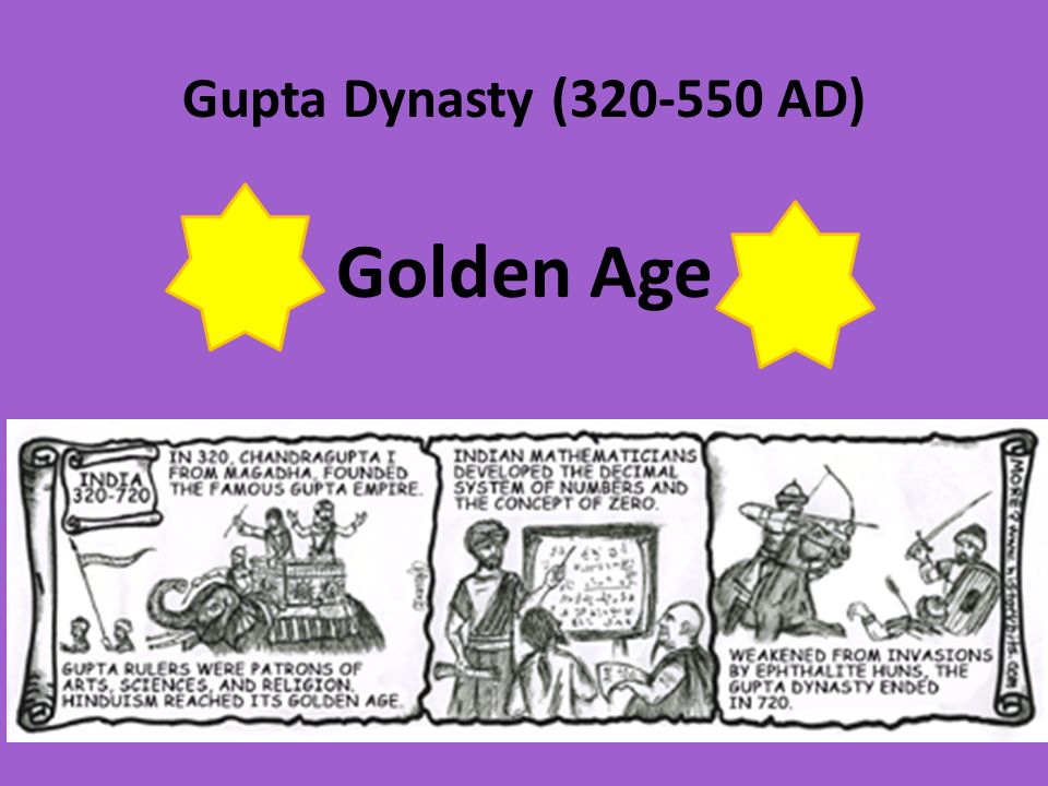 Gupta Dynasty ( AD) Golden Age