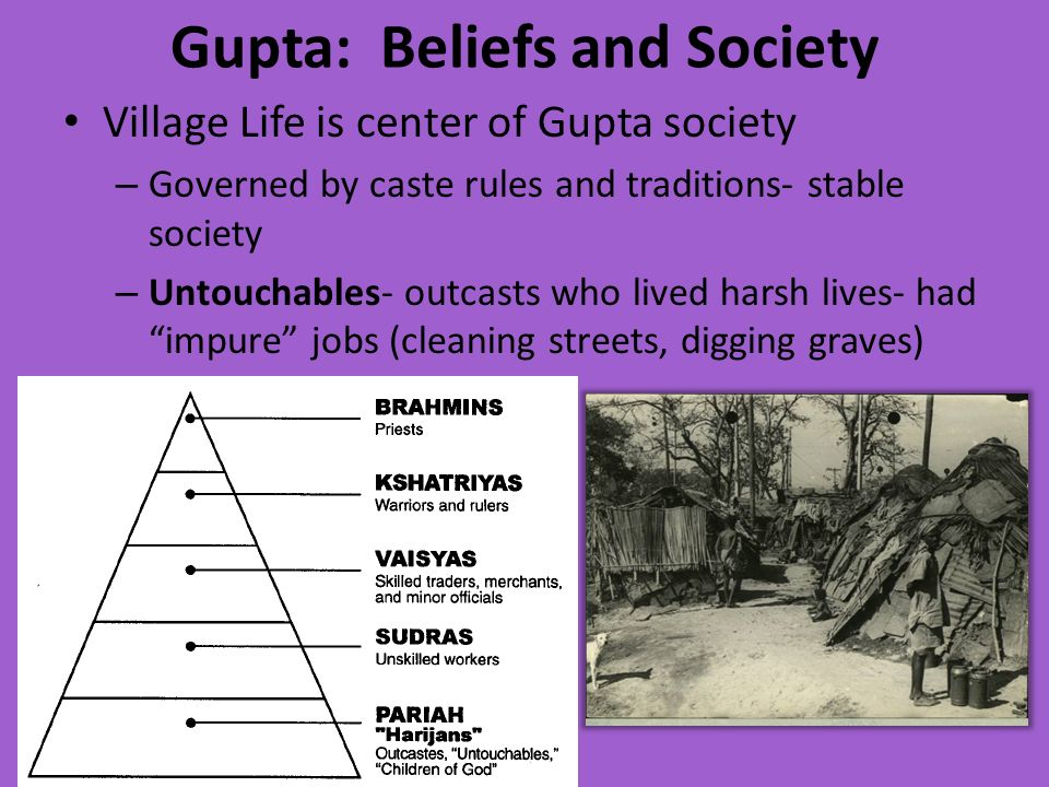 Gupta: Beliefs and Society