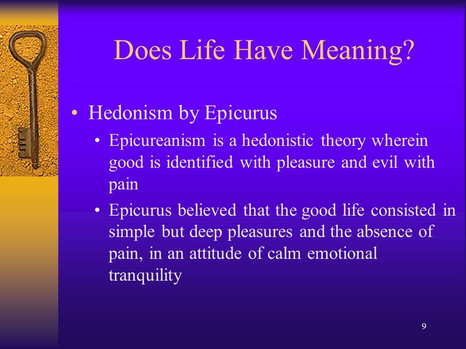 epicurus pleasure and the good life