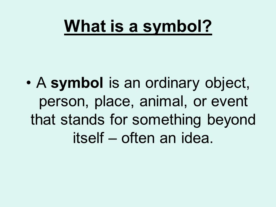 Symbolism Layers Of Meaning Ppt Video Online Download
