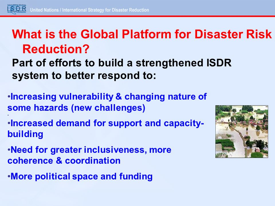 What is the Global Platform for Disaster Risk Reduction