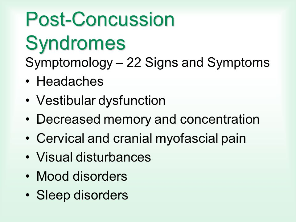 Mild Brain Injury Concussion In The Workplace Stephen C