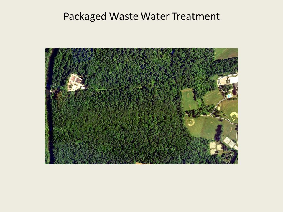 Packaged Waste Water Treatment