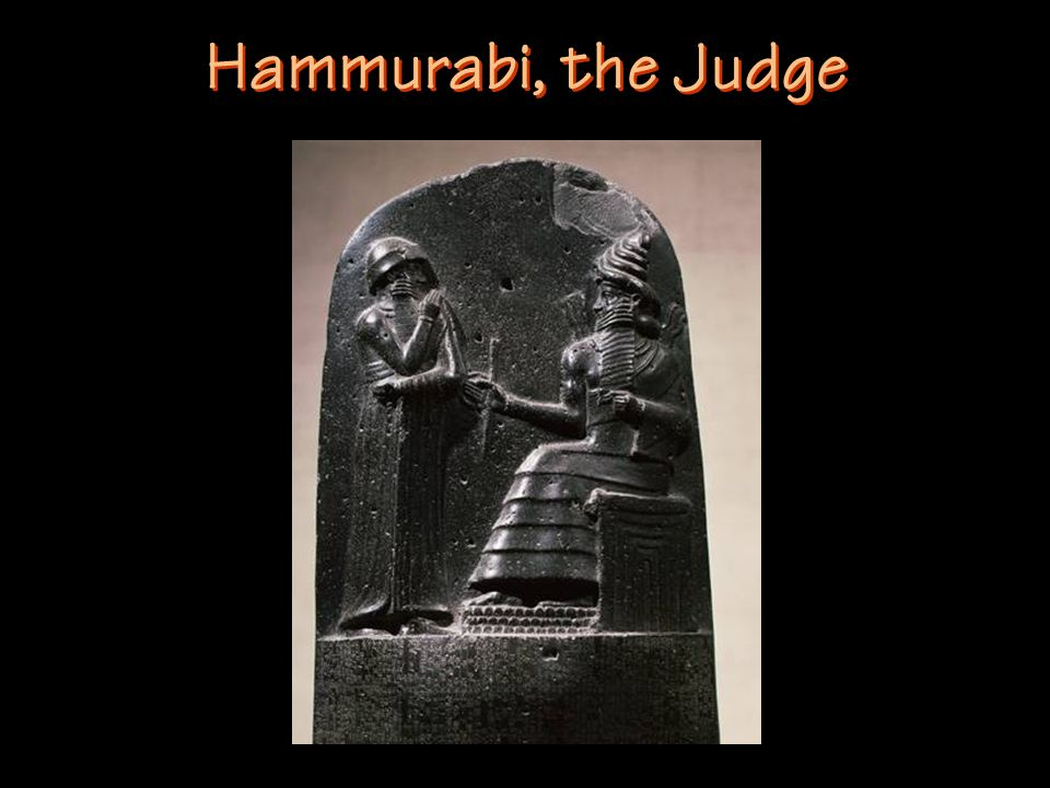 Hammurabi, the Judge