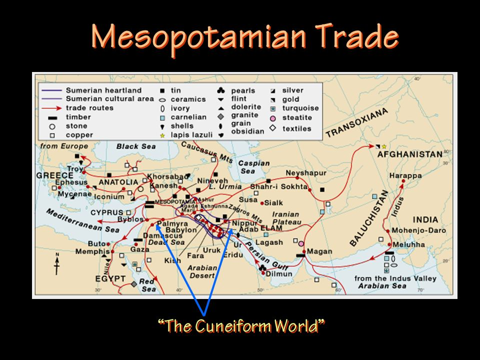 Mesopotamian Trade The Cuneiform World