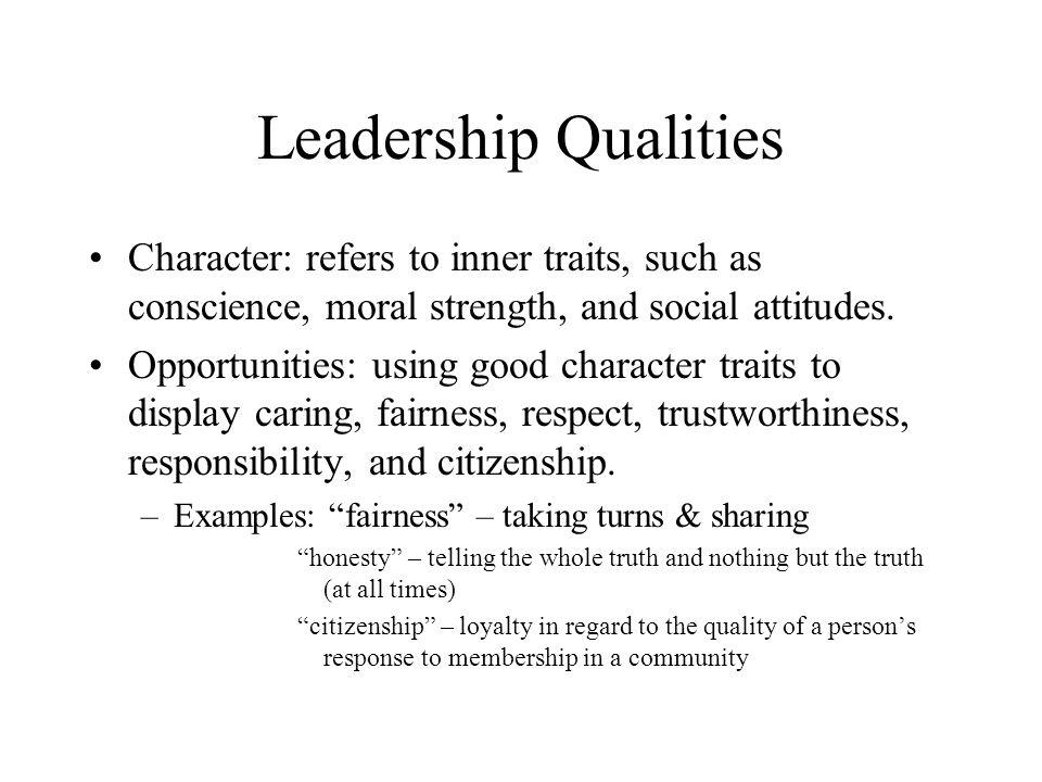 characteristics of effective citizenship
