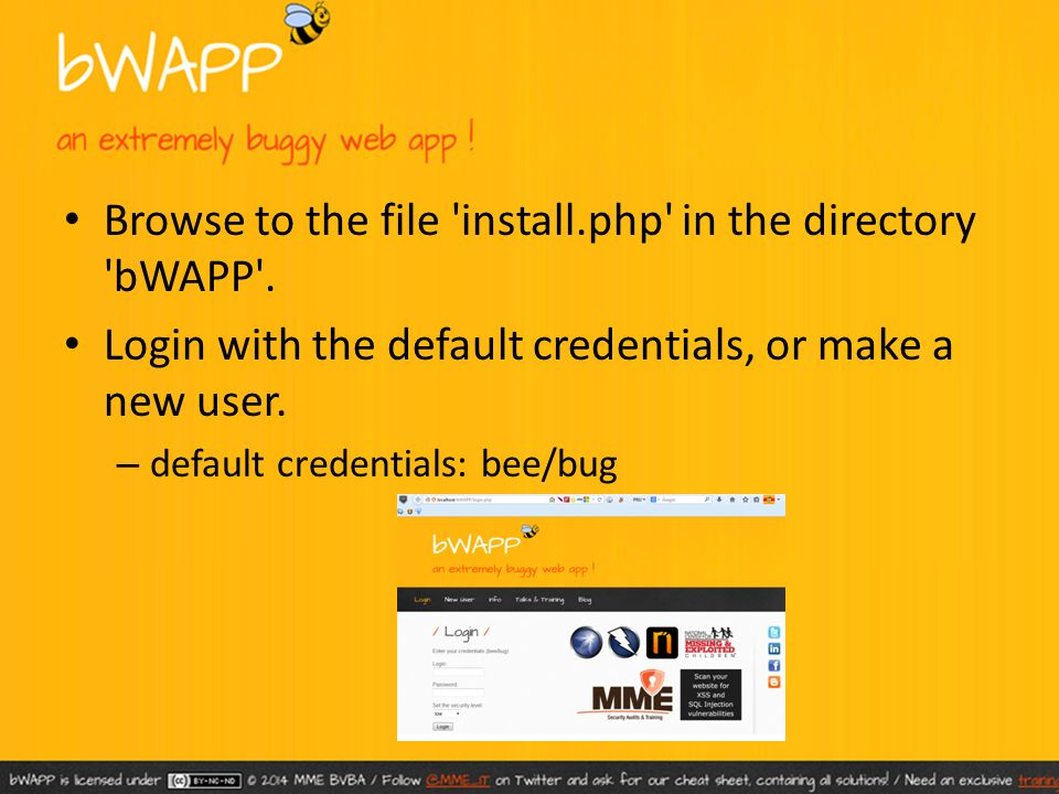 bWAPP – Bee Bug – Installation - ppt video online download
