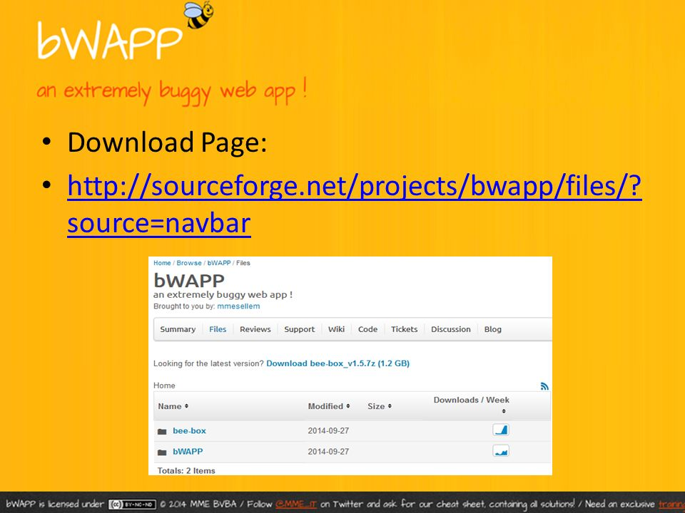 bWAPP – Bee Bug – Installation - ppt video online download